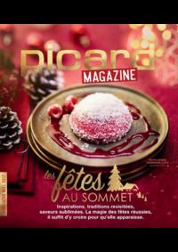 Journaux et magazines Picard PARIS 2 BD SAINT GERMAIN : Picard Mag : Les fêtes au sommet