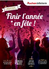Prospectus Les Halles d'Auchan Les Mureaux : Finir l'année en fête !
