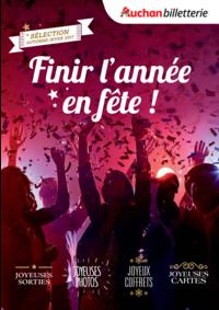 Prospectus Auchan Plaisir : Finir l'année en fête !