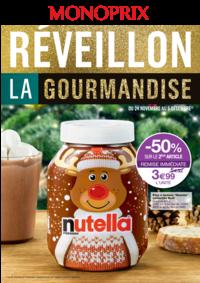 Prospectus Monoprix PARIS 54 Bd de l'Hôpital : Réveillon la gourmandise