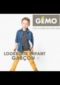 Catalogues et collections Gemo MONTIGNY LES CORMEILLES : Lookbook enfant garçon