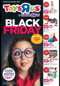 Prospectus Toys R Us CORBEIL ESSONNES : Black friday