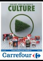 Prospectus Carrefour : Pour noël offrez une touche de culture