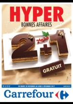 Prospectus Carrefour : 2+1 gratuit
