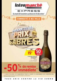 Prospectus Intermarché Express ASNIÈRES : Producteur de prix sabrés
