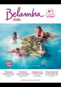 Catalogues et collections Belambra Clubs Trégastel-Plages : Brochure printemps-été-automne 2018