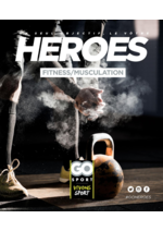 Guides et conseils  : Guide Go Sport Heroes Fitness et musculation