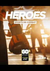 Guides et conseils Go Sport PORTET SUR GARONNE : Guide Go Sport Heroes Sports de combat