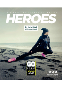 Guides et conseils Go Sport PORTET SUR GARONNE : Guide Go Sport Heroes Running