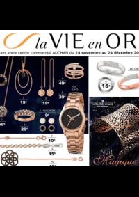 Catalogues et collections Auchan Melun Senart Cesson : La vie en Or Nuit magique