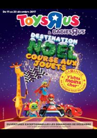 Catalogues et collections Babies R Us TOURVILLE-LA-RIVIÈRE Z.A.C du Clos des Antes : Destination Noël course aux jouets