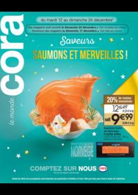 Bons Plans Cora BOUSSY-SAINT-ANTOINE : Saveurs saumons et merveilles!