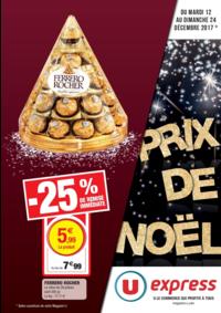 Prospectus U Express MONTROUGE : Prix de Noël