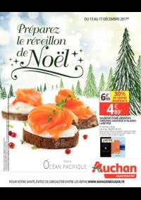 Prospectus Auchan Supermarché Paris 12 Daumesnil : preparez le reveillon de noel