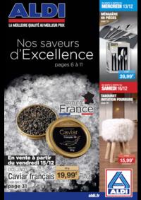 Prospectus Aldi Charenton-le-Pont : Nos saveurs d'excellence