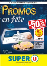 Prospectus Super U MONTGERON : Promos en fête