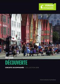 Catalogues et collections Verdié Voyages Montauban : La brochure Version Découverte