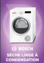Promos et remises  : Sèche linge Bosch à 399,99€ au lieu de 499,99€