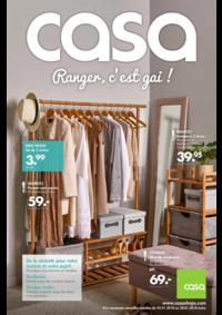 Catalogues et collections Casa CHAUMONT : Ranger c'est gai!