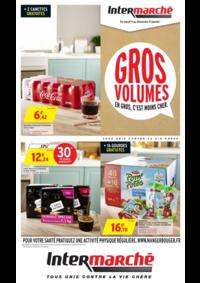 Prospectus Intermarché Super Saint-Vit : Gros volumes en gros c'est moins cher
