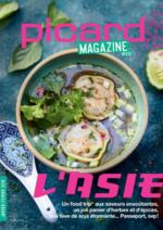 Journaux et magazines Picard : Picard Magazine : l'Asie