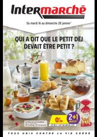 Prospectus Intermarché Super Saint-Vit : Qui a dit que le petit déj devait être petit ?