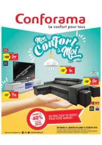 Prospectus Conforama COLOMBES : Mon confort à moi