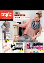Prospectus Trafic : Mode:adoptez la cool attitude