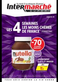 Prospectus Intermarché Express PARIS Ornano : Les 4 semaines les moins chères de France. Semaine 2