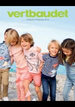 Catalogues et collections VERTBAUDET : Collection Printemps 2018