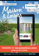 Prospectus E.Leclerc : Maison et loisirs