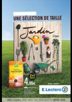 Prospectus E.Leclerc : Jardin : une sélection de taille