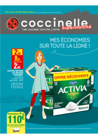 Prospectus Coccinelle Supermarché ALFORTVILLE : Mes économies sur toute la ligne!