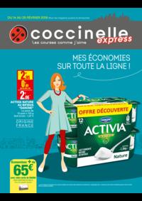 Prospectus Coccinelle Express MASSY : Mes économies sur tout la ligne !