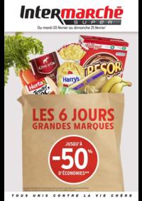 Prospectus Intermarché Contact : Les 6 jours grandes marques jusqu'à 50% d'économies
