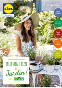 Prospectus Lidl GARIDECH : Tellement bien au jardin avec Florabest