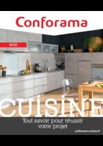 Prospectus  : conforama guide cuisine