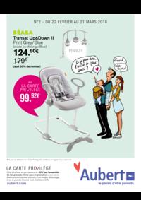 Prospectus Aubert SAVIGNY LE TEMPLE : Go, les prix promos !