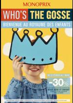 Prospectus Monoprix : Bienvenue au royaume des enfants