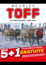 Promos et remises  : Action spéciale chaises ! 5+1 gratuite