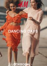 Catálogos e Coleções H&M : Lookbook senhora Dancing days