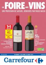 Prospectus Carrefour : La foire aux vins