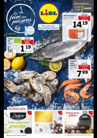 Prospectus Lidl CHAUMONT : La foire aux poissons