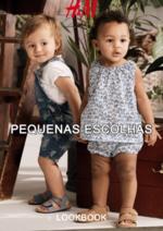 Catálogos e Coleções H&M : Lookbook criança Pequenas escolhas