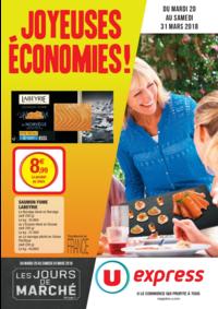 Prospectus U Express LEVALLOIS PERRET : Joyeuses économies !