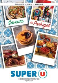Prospectus Super U LE PORT MARLY : Saveurs du Portugal