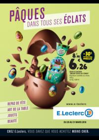 Prospectus E.Leclerc CHAUMONT : Pâques dans tous ses éclats