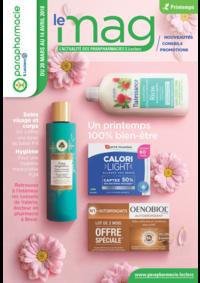 Prospectus Parapharmacie E.Leclerc BONNEUIL S/MARNE : Le Mag printemps