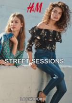 Catálogos e Coleções H&M : Lookbook mulher Street sessions