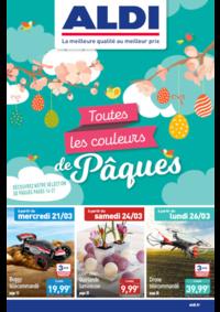Prospectus Aldi Argenteuil : Toutes les couleurs de Pâques
